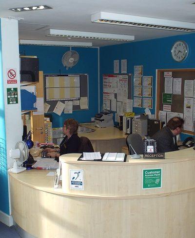 Basingstoke - The Orchard - Reception Area